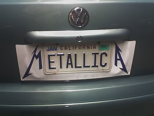 Customized License Plates >> Going all out for license plate vanity - Holiday Matinee