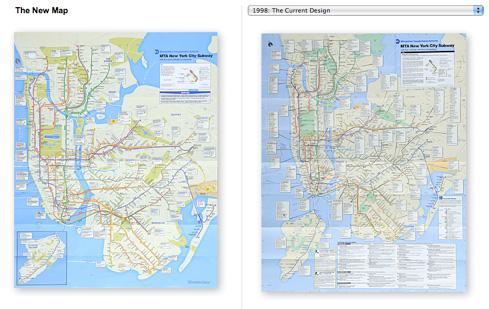 New NYC Subway Map