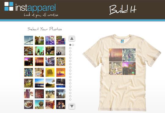 Instapparel shirt design